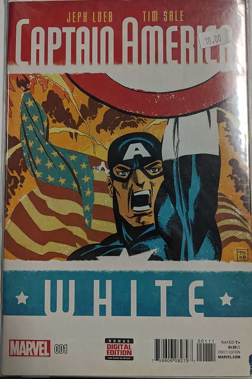 Captain America: White (Comic-Set)