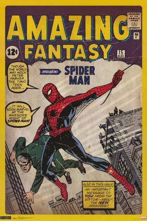 Spider-Man: Amazing Fantasy (Poster)