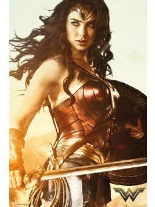 Wonder Woman Sword (Poster)