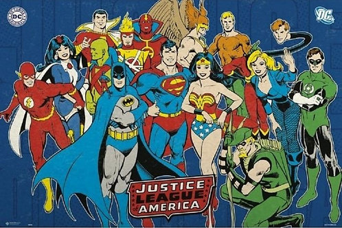 Justice League of America (Flat Poster)