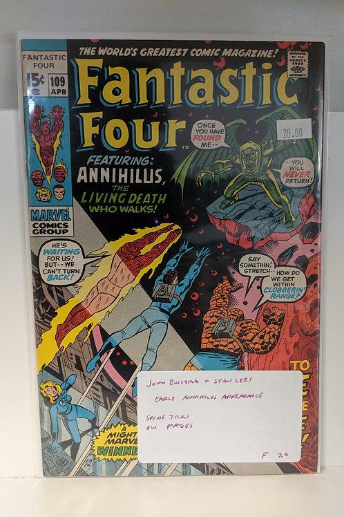 Fantastic Four #109