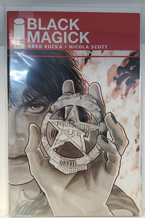 Black Magick 1 - 5 (comic set)