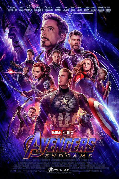Avengers: Endgame (Poster)