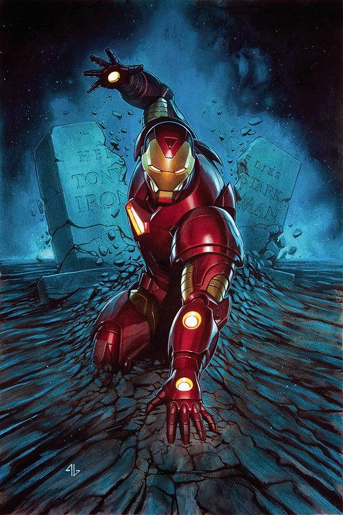 Invincible Iron-Man (Adi Granov Poster)