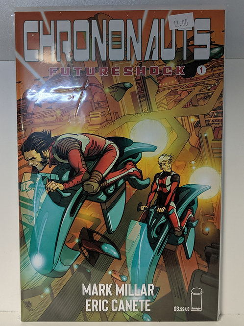Chrononauts: Futureshock (Comic Set)