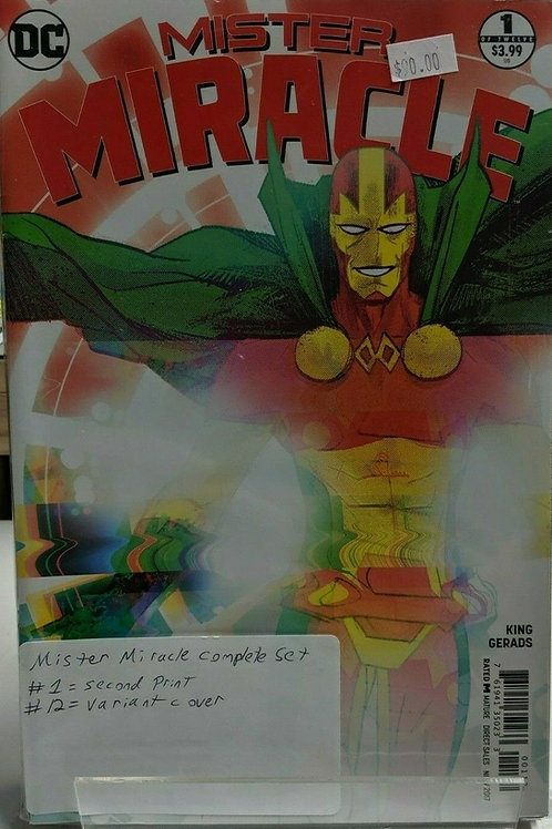 Mister Miracle (Comic Set)