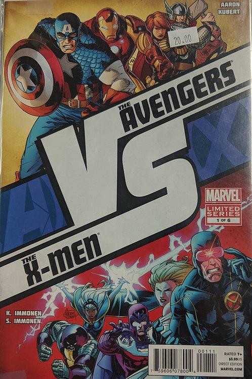 Avengers vs. X-Men: Versus (Comic-Set)