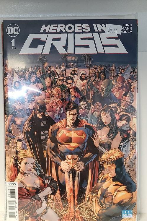 Heroes in Crisis (comic set)