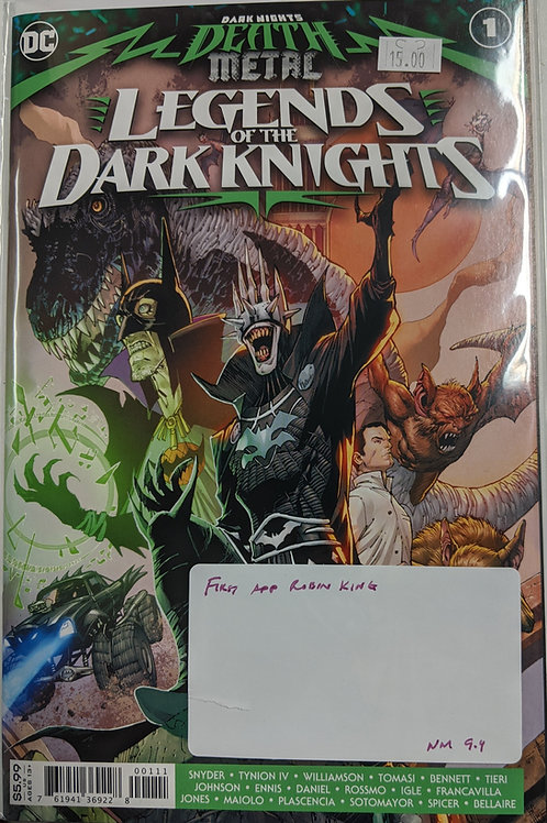 Dark Nights Death Metal: Legends of the Dark Knights #1