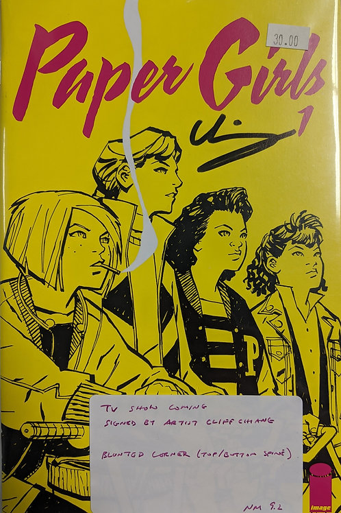 Paper Girls #1 (Signed by Cliff Chang)