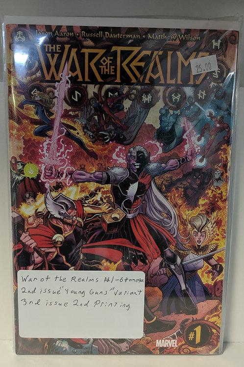 War of the Realms (Comic Set)