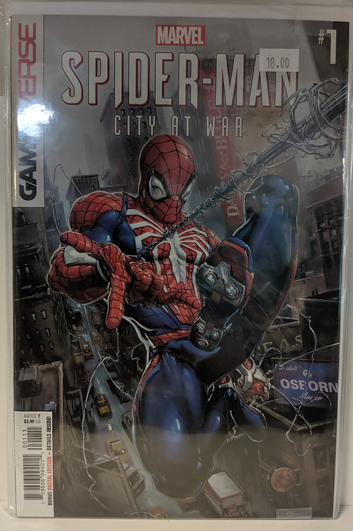 Spider-Man: City at War (Ps4 Gamerverse Comic Set)