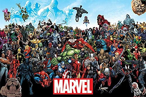 Marvel Universe Characters (Poster)