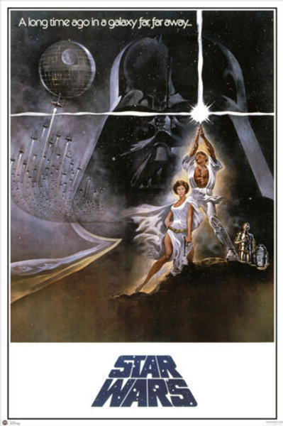 Star Wars: A New Hope (A Long Time Ago Poster)