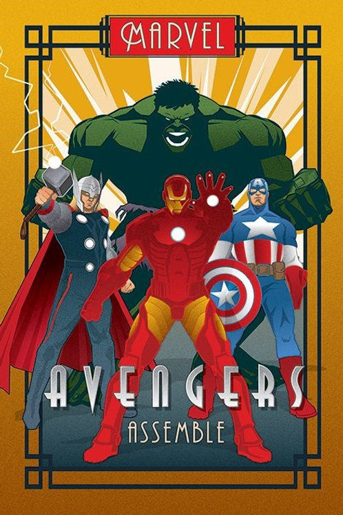 Avengers Assemble (Flat Poster)