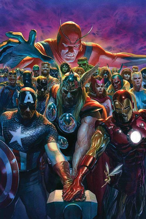 Avengers 700 (Alex Ross Poster)