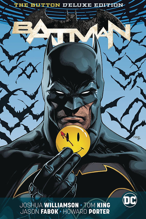 Batman Flash The Button Deluxe Hardcover