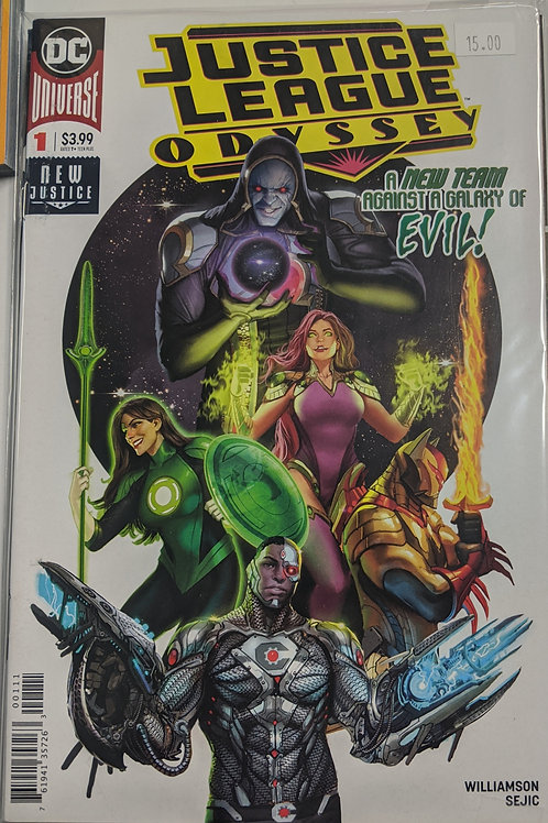 Justice League Odyssey: The Ghost Sector (Comic Set)