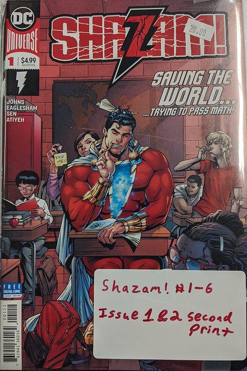 Shazam! The Seven Magic Lands Part 1 (Comic-Set)