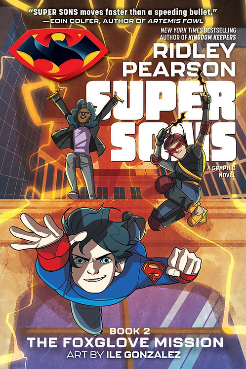 Super Sons Book 2: The Foxglove Mission