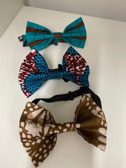 Ankara Bow Tie Set