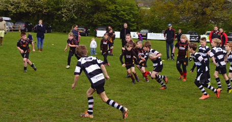Mini and Junior Rugby back at Veseyans Rugby from this Sunday!