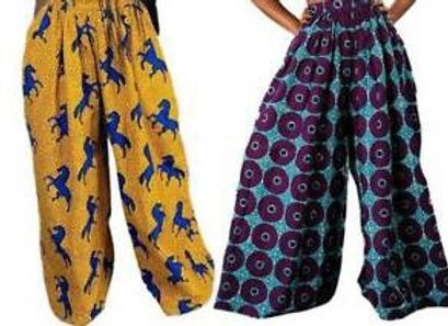 Bargi Ankara Print Trouser