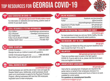 Top Resources for Georgia COVID-19