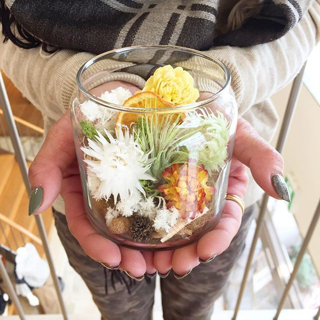 TERRA LAB_terrarium workshop_in BENE COLLECTION__昨日は、桐生市にあるセレクトショップ BENE COLLECTION さん _benecollecti