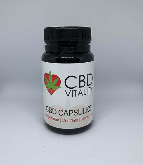 300mg CBD+CBDa Hemp Oil Capsules