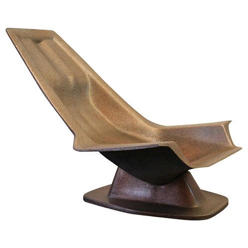 1970. Charles Zublena. Armchair