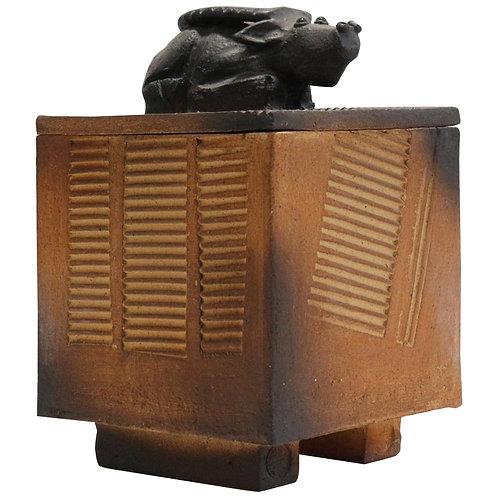 1968. Talier Palègre ceramic box