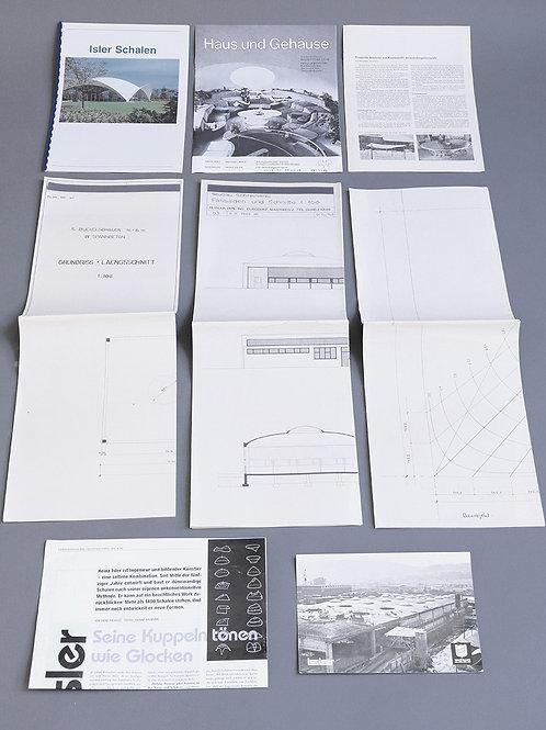 1960 / 1970's Heinz Isler archives