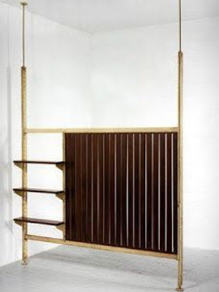 1960. room divider by jean Prouvé
