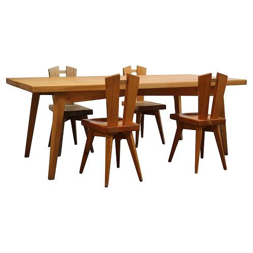 1968. Christian Durupt. Dining set