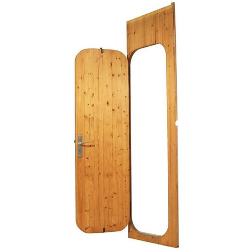 1970.  Door by Charlotte Perriand