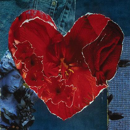 Tile: Scarlet Petal Heart