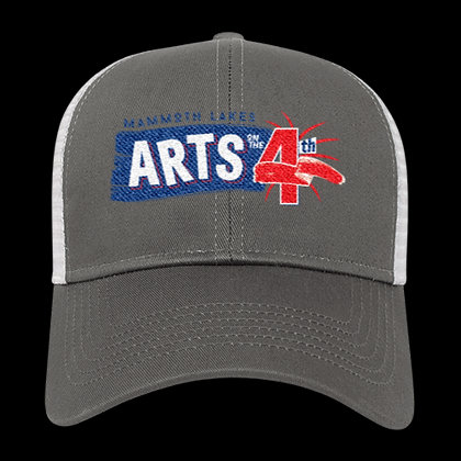 Arts on the 4th Grey Trucker Hat
