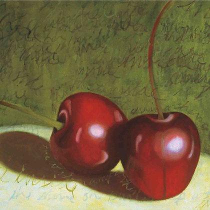 Tile: Cherries Duo