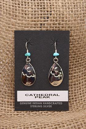 Cathedral Peak Drop Earrings