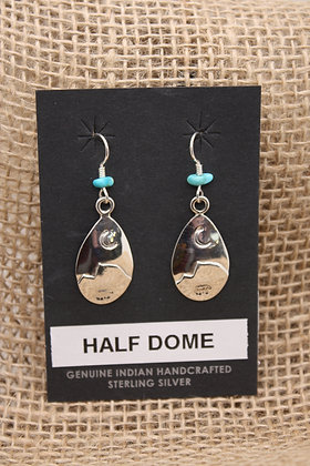 Half Dome Drop Earrings