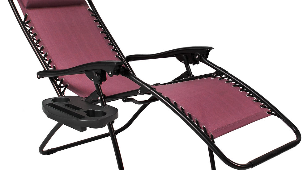 BCP Zero Gravity Chairs Case Of (2) Lounge Patio Chairs Outdoor
