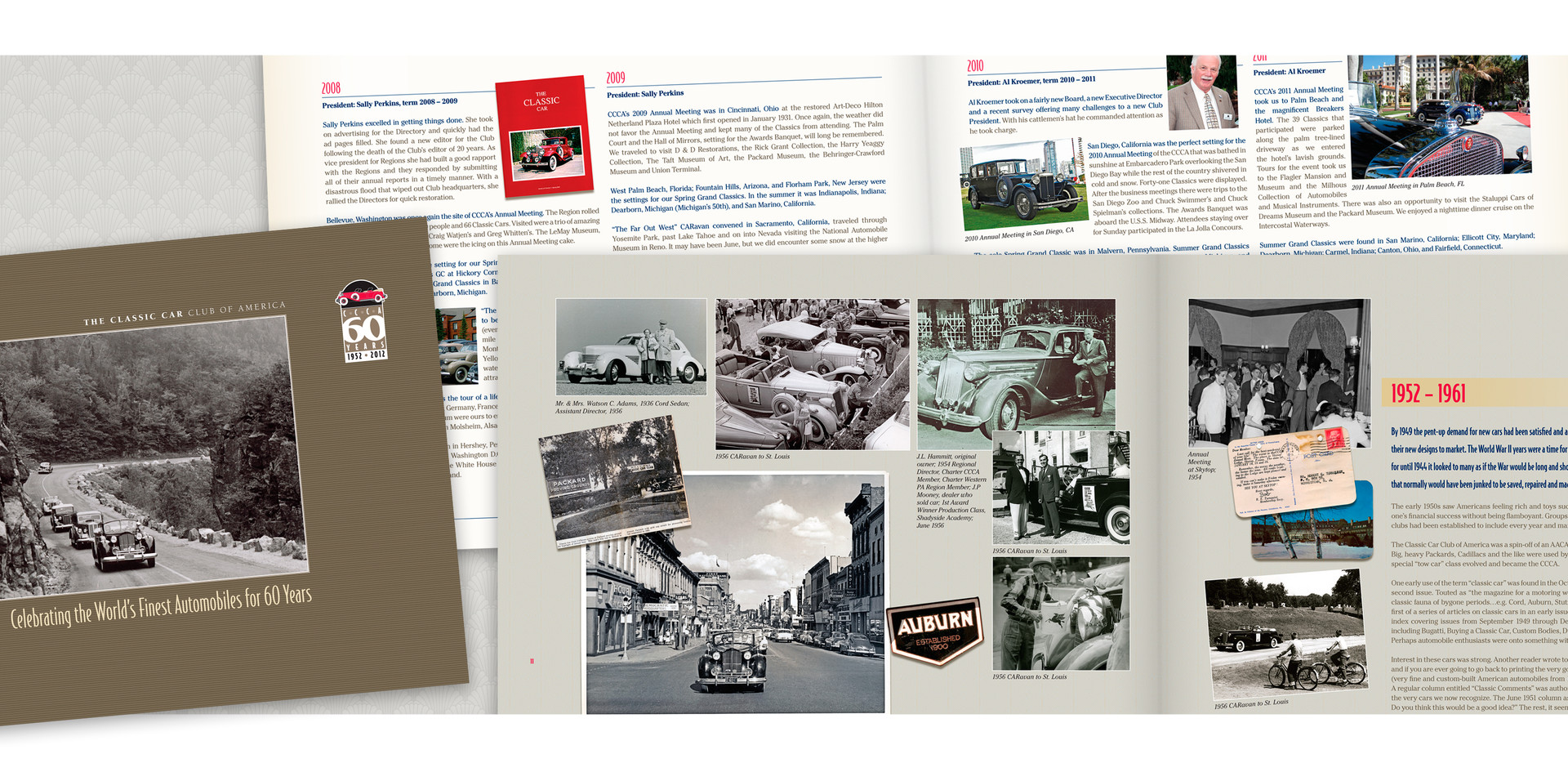 Classic Car Club of America History Book