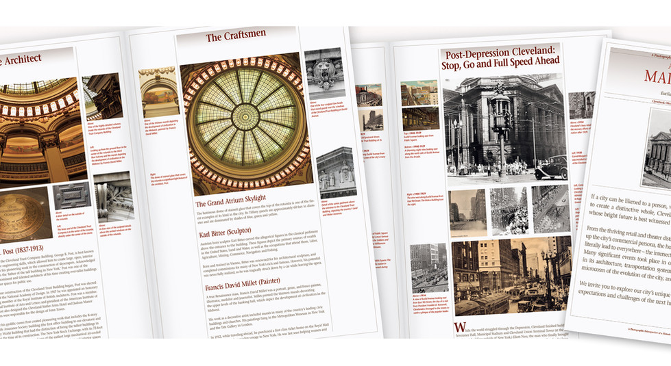 Main&Main Exhibition Brochure