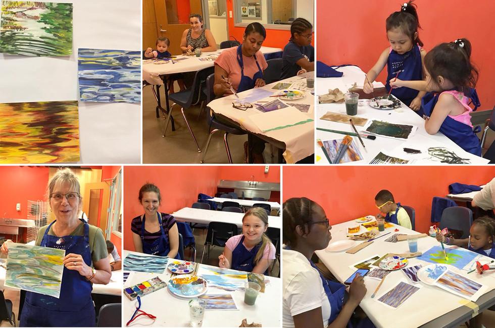Hudson River Museum: Family Art Class