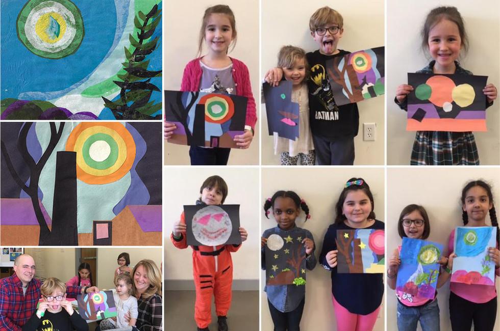 Hudson River Musem: Family Art Class
