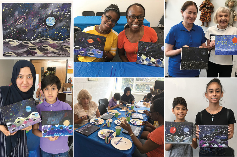 Yonkers Public Library: Summer Art Workshop for Families