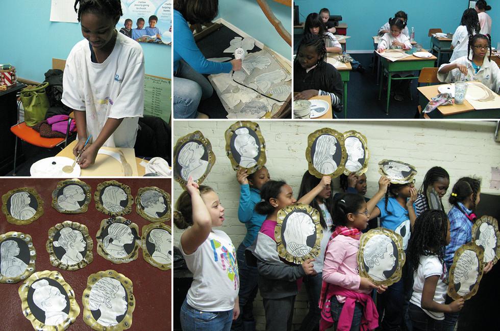 Yonkers Girls Scouts: Art Workshop