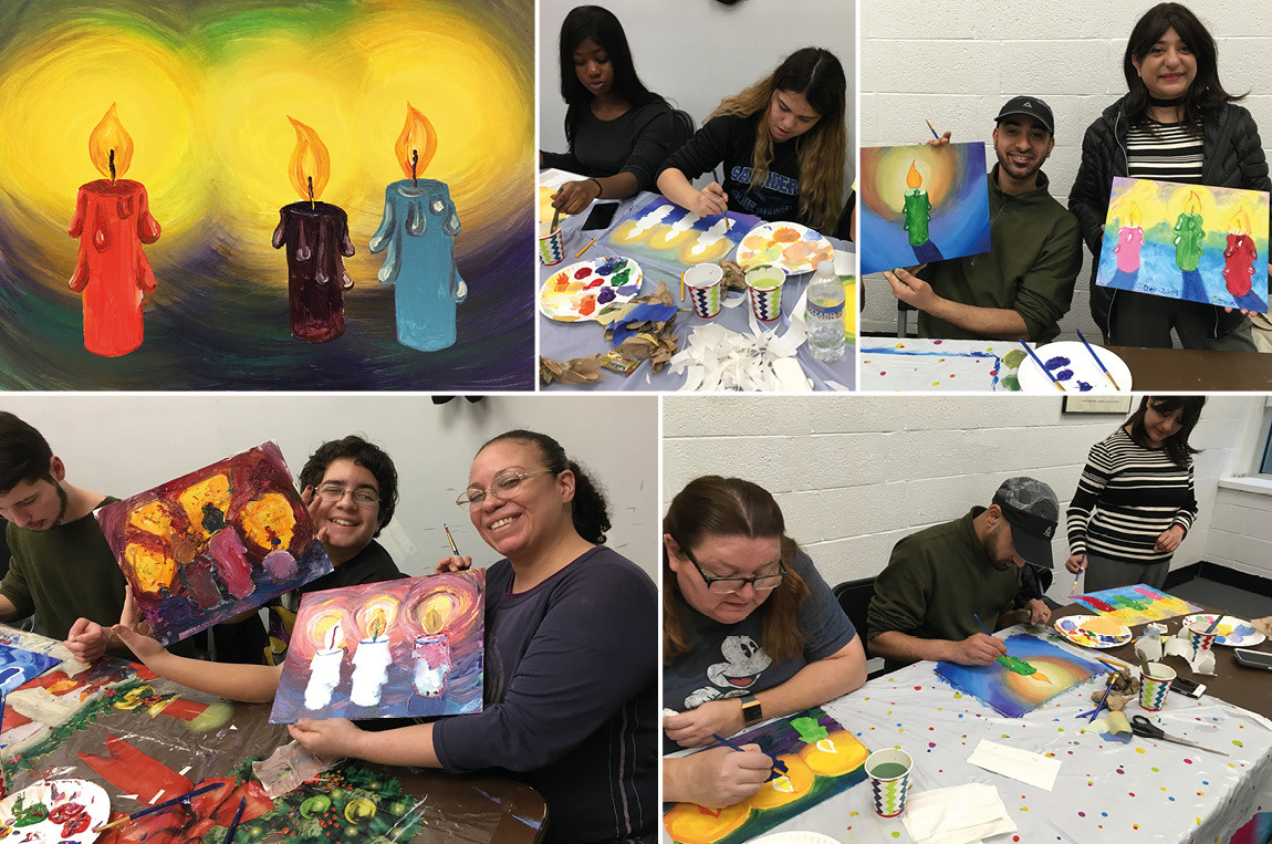 Yonkers Public Library: Holiday Art Workshop for Families