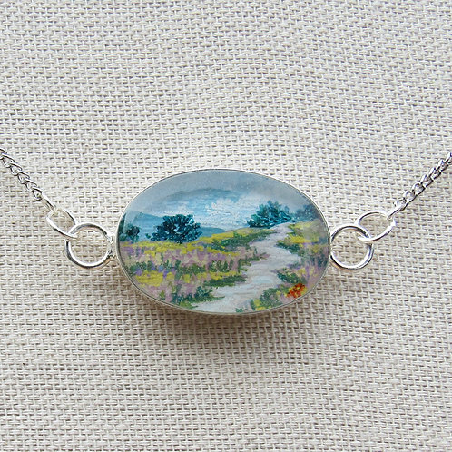 Field of Heather Necklace